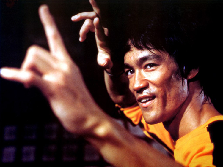 bruce in the game of death